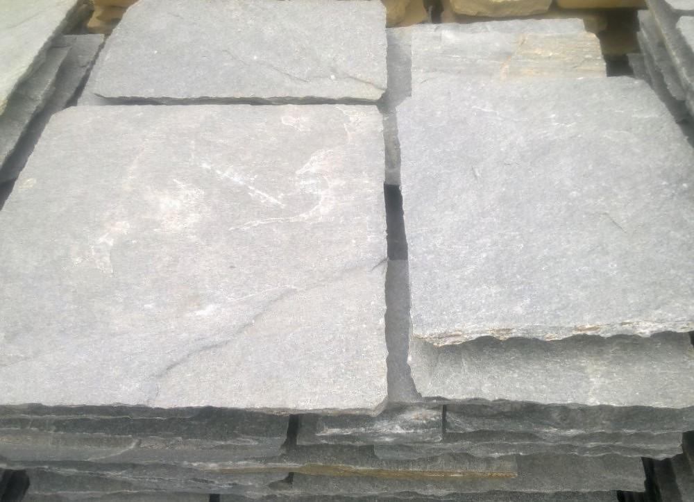 quarzit grau metallic